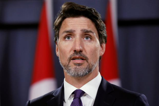 Evidence: Justin Trudeau said the shooting down of the airliner 'may well have been unintentional'. Photo: REUTERS/Blair Gable