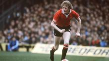 Ashley Grimes in action for Manchester United. Photo: Bob Thomas Sports Photography via Getty Images