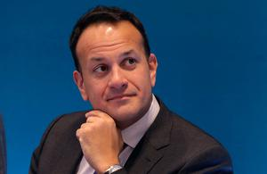 Leo Varadkar: The Taoiseach said online remarks about the Strokestown eviction were 'incitement of violence' Photo: Damien Eagers