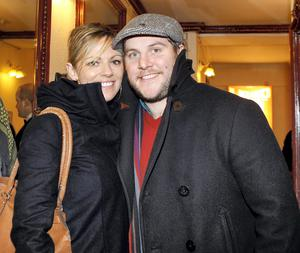 Peter Coonan and girlfriend Amy O'Driscoll