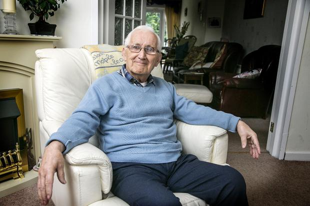 Dubliner Dermot Bolton at his home in Santry – he was left disappointed with the Budget. Photo: Kyran O'Brien