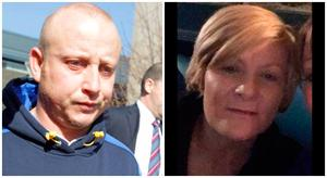 MURDER CHARGE: Roy Webster (left) claims Anne Shortall (right) blackmailed him for money for an abortion