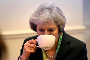 Brexit looming: Theresa May. Photo: Steve Parsons/PA Wire
