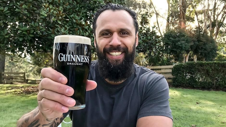 Former Leinster player Isa Nacewa teamed up with Guinness to reveal limited edition Guinness x BuJo Rugby at Home Kits, perfect for the ultimate rugby at home celebration. Photo: INPHO