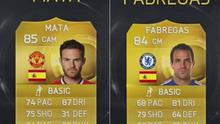 Controversy reigns as Mata is rated higher than Fabregas in the latest FIFA 15 stats