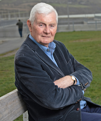 Dr Fergus O'Kelly - a retired GP who is returning to practice to help out in the COVID-19 crises