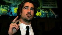 "Actor Colin Farrell, smoking, arrives at the premiere of ""Alexander""  in 2004"