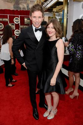 Actors Eddie Redmayne and Kelly Macdonald attend the 21st Annual Screen Actors Guild Awards at The Shrine Auditorium
