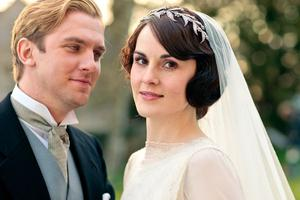Lady Mary (Michelle Dockery) and Matthew Crawley (Dan Stevens)