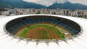Rio's famous Maracana stadium has fallen into a state of disrepair as Brazil counts the cost of Olympics. Photo: Vanderlei Almeida/AFP/Getty Images)