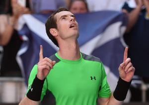 Andy Murray had a sense of controlled menace about him after despatching Joao Sousa of Portugal: 6-1, 6-1, 7-5