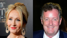 Piers Morgan's son made a very awkward confession during his father's spat with JK Rowling.