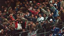 The friendly, the first meeting in Ireland between the sides since visiting hooligans caused chaos at Lansdowne Road in 1995, will take place at Sunday lunchtime following discussions between the associations, broadcasters and the gardai.