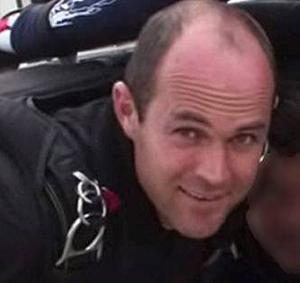 Emile Cilliers, who was questioned by police after his wife's parachute failed