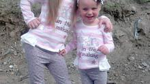 Kelsey and Jodie - the two young sisters who perished in a fire at their home