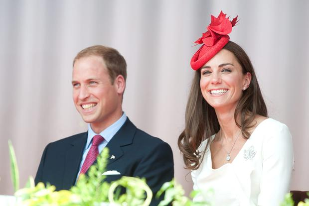 Prince William, Duke of Cambridge and Catherine, Duchess of Cambridge attend Canada Day Celebrations at Parliament Hill on day 2 of the Royal Couple's North American Tour on July 1, 2011 in Ottawa, Canada. (Photo by Mark Large - Pool/Getty Images)
