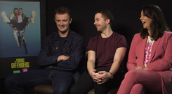 Chris Walley, Alex Murphy, and Hilary Rose talk series 2 of The Young Offenders