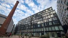 High-end: Ires's Marker Apartments at Grand Canal Square in Dublin