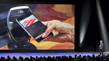 Paying for items on your phone with Apple Pay
