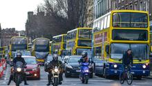 CHALLENGE: Passengers still use many of the same Dublin bus routes originally established in the 1920s. Stock picture