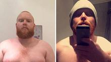 Thomas is now a personal trainer after losing 6 stone