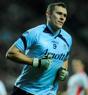 In his club Raheny, former Dublin player Ciaran Whelan was the man Brian looked up to