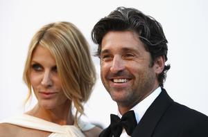 Jillian Dempsey and Patrick Dempsey 2011 in France.