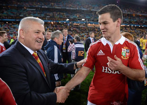 Johnny Sexton was left out of Warren Gatland's Lions squad. Picture credit: Stephen McCarthy / SPORTSFILE