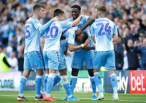 As a result, Coventry and Rotherham have been promoted to the Championship, while Wycombe, Oxford, Portsmouth and Fleetwood will contest the play-offs, with the dates for those matches to be fixed in due course. Photo: Action Images/Ed Sykes
