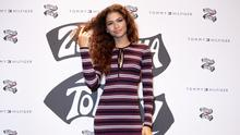 Zendaya attends the launch of the Collection TommyXZendaya on October 03, 2019 in Milan, Italy. (Photo by Rosdiana Ciaravolo/Getty Images)