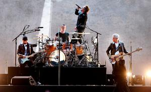 U2 raised the curtain on the Irish bid to secure one of two seats on the UN Security Council. Photo: Steve Humphreys