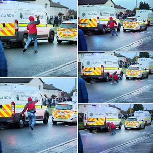 Tony Gavin published the sequence of photographs on his Facebook page (Photo: Tony Gavin)