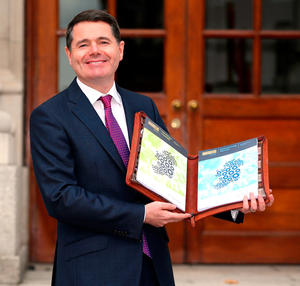 Minister for Finance Paschal Donohoe Photo: Mark Condren