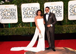 Actors Taraji P. Henson (L) and Terrence Howard attend the 73rd Annual Golden Globe Awards held at the Beverly Hilton Hotel on January 10, 2016 in Beverly Hills, California.  (Photo by Jason Merritt/Getty Images)