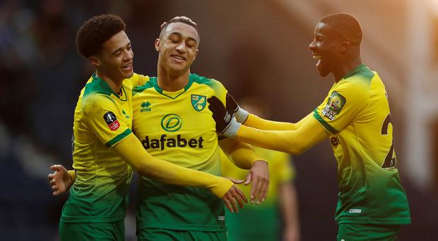 'I got my chance tonight and I took it' - Irish teenager Adam Idah delighted with hat-trick on senior debut for Norwich in FA Cup