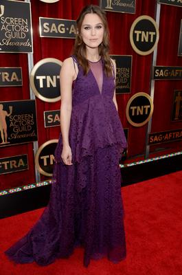 Actress Keira Knightley is four months pregnant with her first child.