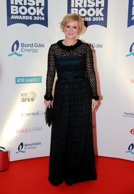 Cecelia Ahern at the Bord Gais Energy Irish Book Awards at the Double Tree by Hilton Hotel in Dublin. Picture:Arthur Carron