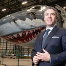 Shortage: John Slattery said Embraer is also trying to hire more female engineers