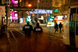 December 11, 2018: Five people lost their lives after a shooting at a Christmas market in Strasbourg, France. The suspect, Cherif Chekatt, was shot dead by police two days later. It is understood he was a supporter of Isis. Here, police secure a street and the surrounding area after the shooting. REUTERS/Vincent Kessler