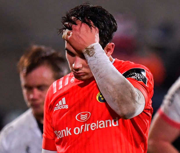 Joey Carbery explains how he feels about latest injury setback