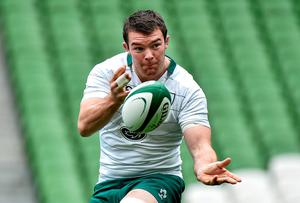 Peter O'Mahony: 'I already have enough on my plate with the lineout and the scrum without worrying what the lads are doing'. Picture credit: Matt Browne / SPORTSFILE