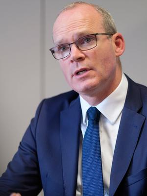Tánaiste and Minister for Foreign Affairs Simon Coveney. Picture: Thierry Monasse