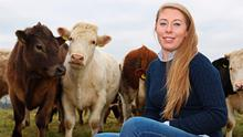 Karen Elliffe from Westmeath: 'For me, farming is a way of life and a vocation.' Photo: Lorraine Teevan
