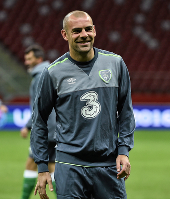 Darron Gibson has become the first high-profile Irish casualty of the financial impact of Covid-19. Photo: David Maher / Sportsfile