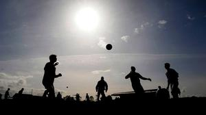 Although large gatherings remain off the table, small crowds will be allowed to attend sporting events from next week with 200 people permitted at outdoor gatherings from June 29. Photo: Ray Ryan / Sportsfile