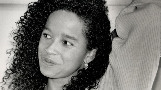 Rae Dawn Chong at a press conference in 1988. (Photo by Erin Combs/Toronto Star via Getty Images)