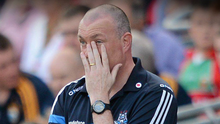 BAD DAY: Dublin manager Pat Gilroy on the sideline during the 2012 All-Ireland SFC final against Mayo at Croke Park. Photo: Stephen McCarthy/Sportsfile