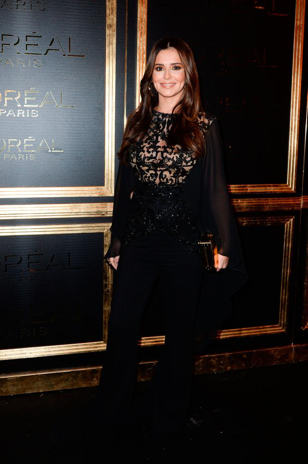 Cheryl attends the Gold Obsession Party - L'Oreal Paris : Photocall as part of the Paris Fashion Week Womenswear Spring/Summer 2017 on October 2, 2016 in Paris, France. (Photo by Stephane Cardinale - Corbis/Corbis via Getty Images)