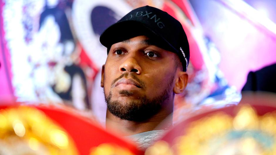 Anthony Joshua. John Walton/PA Wire.