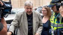 Successful appeal: Cardinal George Pell during his trial last year. AP Photo/Andy Brownbill